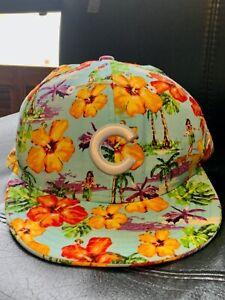 New Era 9Fifty MLB Cubs Tropical Hawaiian Print Men's Snapback Cap Hat