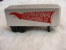 Vintage Ho Scale Inerational Forwarding 25' Trailer b