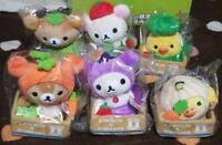 Rilakkuma Lawson Limited Vegetable Plush Figure Set All Complete 6 items Anime