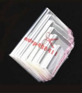100pcs 2''-22'' Resealable Opp Plastic Self Adhesive Seal Bag