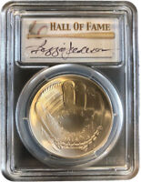 2014 Baseball HoF $1 S PCGS MS70 Signed Reggie Jackson - RicksCafeAmerican.com