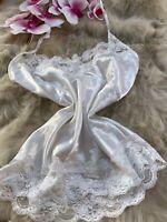 Unbranded white Camisole Top sleepwear nightwear size m cup B