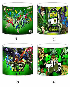 Ben 10 Alien Force Childrens Lampshades Ceiling Light Table Lamp Bedding