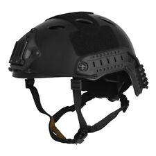 Lancer Tactical Ca-725b Fast Helmet PJ Type With Rails & Velcro Basic Black