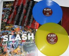 LP SLASH World On Fire (2LP) COLORED VINYL - Black Friday 2014- STILL SEALED