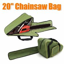 "20"" Green Oxford Chainsaw Carry Bag For Husqvarna Carry Case Protective Holdall"