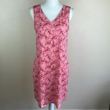 Womens Size 6 The Limited Sleeveless Silky Pink Floral Printed Lightweight Dress