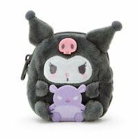 Kuromi [Sanrio] Mascot Coin Case Wallet Kawai Gift Cute Japan F/S