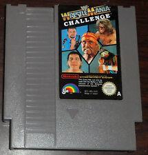 Nintendo NES. WWF Wrestlemania Challenge (PAL AUS/ITA/UK)