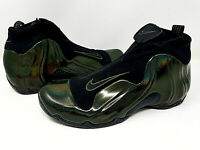 Nike Air Flightposite Men's Legion Green Basketball Shoes AO9378 300 Foamposite