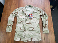 Desert Storm Camoflage Small - Long Sleeve Shirt Military Issue New Propper Coat