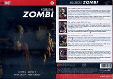 Collezione Zombi Cinekult box 4 + Zombi holoc Zombi dawn of the dead - DVD NUOVO