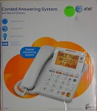 AT&T CL4940 Corded Phone with Answering System, Backlit Display, ExtraLarge