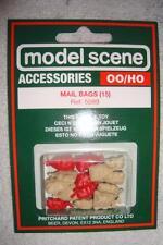 MODELSCENE - OO SCALE - 5089 - MAIL BAGS - X15 PER PACK - LOOK !!!