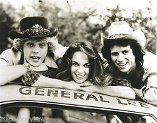 Dukes Of Hazard TV Show Cast Photo General Lee Bo Luke Daisy Duke MUST SEE