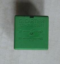 G.Cartier 12V DC 25A Automotive Relay 4 Pin 12V/25A 03.601 03601 New