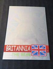 Ty Beanie Babies Series Ii S2 Green Hologram Rare Bear Card 291 Britannia #627