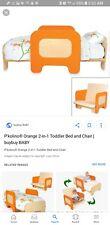 P'kolino Toddler Bed/ Convertible Chair