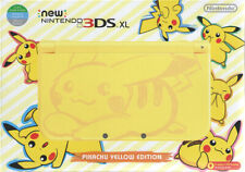 New Nintendo 3DS XL Console - Pikachu Yellow Edition + Adapter