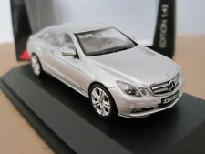 SCHUCO MERCEDES BENZ E CLASS COUPE 2009-2013 in SILVER 1/43 MODEL CAR