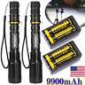 Tactical Police 300000Lumens T6 LED 5Modes 18650 Flashlight Aluminum Focus Torch