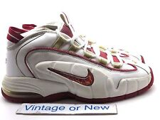 Nike Air Max Penny 1 I White Varsity Red 2005 sz 10.5