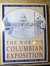 1893 WORLD'S COLUMBIAN HARDCOVER SIGNED NATIONAL TRUST ISSUED 1993 POSTPAID