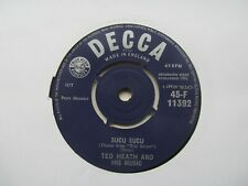 "TED HEATH AND HIS MUSIC Sucu Sucu/Charmaine Cha Cha UK 7"" EX Cond"