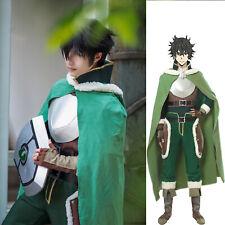 The Rising of The Shield Hero Naofumi Iwatani Cosplay Costume Cloak Cape Boots
