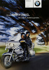 1 BMW R 1200 CL Prospekt 2002 7/02 D brochure prospectus catalogue Katalog moto