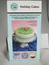 Cricut Expression cake create Holiday cakes Cartridge 2000225  use with gum past