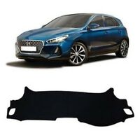 Dash Mat Cover Black Dashboard Cover for 2018 New Generation i30 PD Hatch