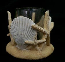 Barely Used , Yankee Candle tealight holder , V/H Starfish , Shells , Beach