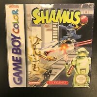 Shamus Nintendo Game Boy Color Brand New Factory Sealed Complete in Box CIB NIB