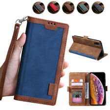 Vintage Wallet Case Card Book Flip Cover for iPhone 11 Pro Max XR XS 6S 7 8 Plus