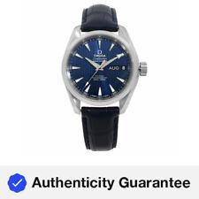 Omega Seamaster Aqua Terra Acero Azul Reloj Calendario anual 231.13.43.22.03.002