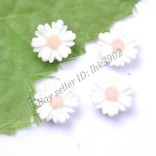 DIY 20pcs Resin Sunflower flower flat back Scrapbooking For phone/ craft