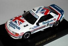 Kyosho Nissan GT-r r32 taille a Coll. - #3 reebok skyline - 1:64 Japon importation