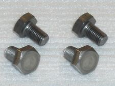 "4x 5/16 BSCy x1/2"" 26TPI Stainless Hex Setscrews Triumph BSA Cycle Thread Bolts"