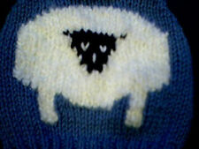 Woolly Easter Sheep Sweater Handmade for 15 inch Bitty Baby Doll Made in USA