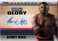 TNA Kenny King 2013 Impact Wrestling GLORY GREEN Autograph Card SN 4 of 5
