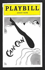 """Zizi Jeanmaire """"CAN-CAN"""" Roland Petit / Cole Porter 1981 FLOP Opening Playbill"""