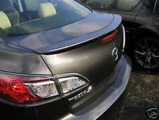 Spoiler, PAINTED Wing Factory Style For: MAZDA3 SEDAN 2010-2013