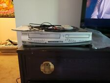 Sylvania dvc840f Vhs/Dvd player combo with remote and owner 00006000 's manual