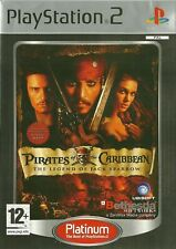 Playstation 2 PS2 Piratas del Caribe la leyenda de Jack Sparrow (PLATINUM