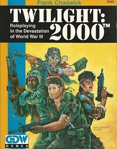 Twilight: 2000 2nd ed  Core Rule Book GDW Second Editon *FS
