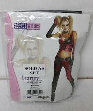 Secret Wishes Harley Quinn Costume Size Small & Rubie's Inflatable Mallet New