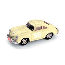 Porsche 356a N.56 18th Monte Carlo 1956 Gacon-buchet 1 43 Brumm Auto Rally
