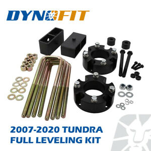 """Fit 2007-2021 Toyota Tundra 3"""" Front+2"""" Rear Complete Lift Leveling Kit 4WD 2WD"""