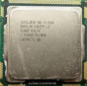 Intel® Core™ i3-530 Processor 4M Cache, 2.93 GHzFCLGA1156